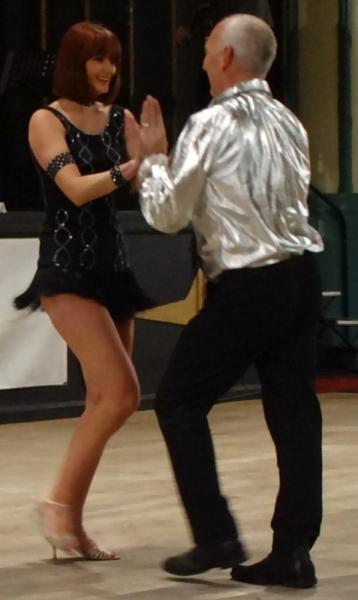 Strictly Come Rotary Dance Competition - Winners Allen & Marijke Cox dancing the