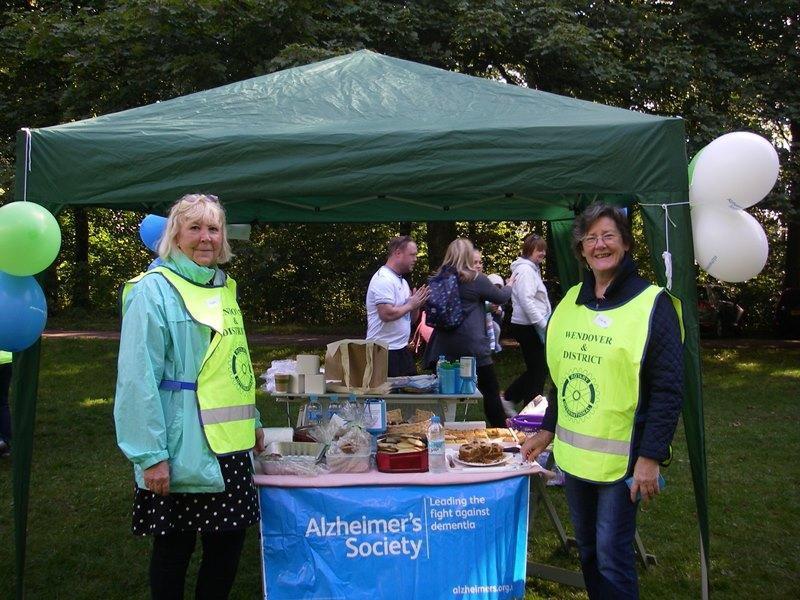 Marshalling the Alzheimer's Walk 2015