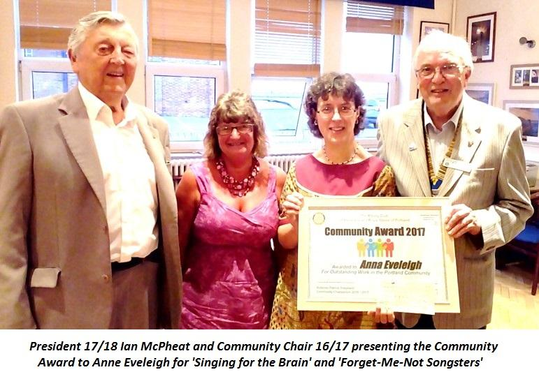Annual Community Award -