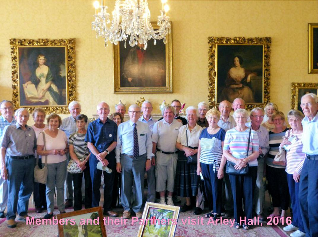 Our Social Activities - Arley Hall Visit 2016