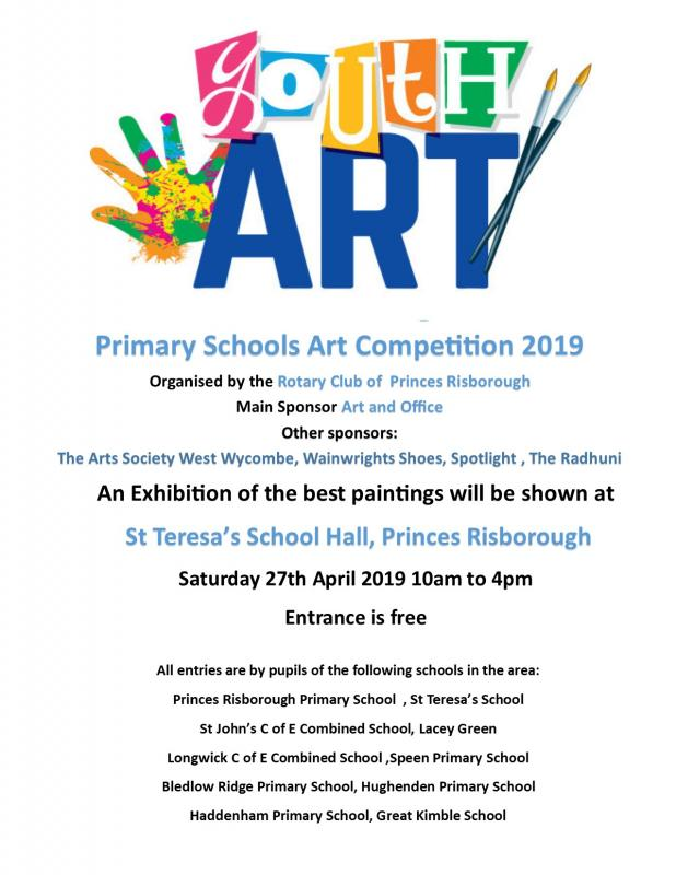 Primary Schools Art Competition 2019 -