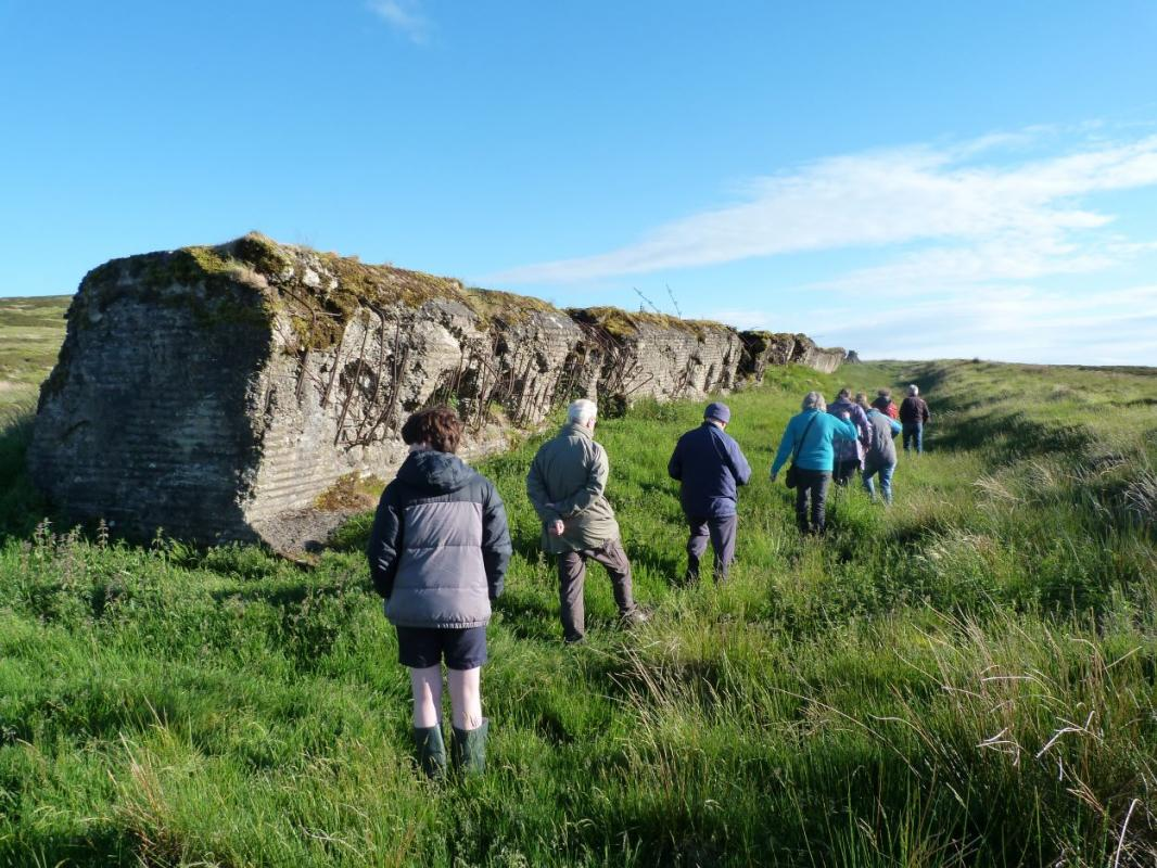 Murray Cook - The Sheriffmuir Atlantic Wall Replica - Thursday 9 July @18.45 for 19.00