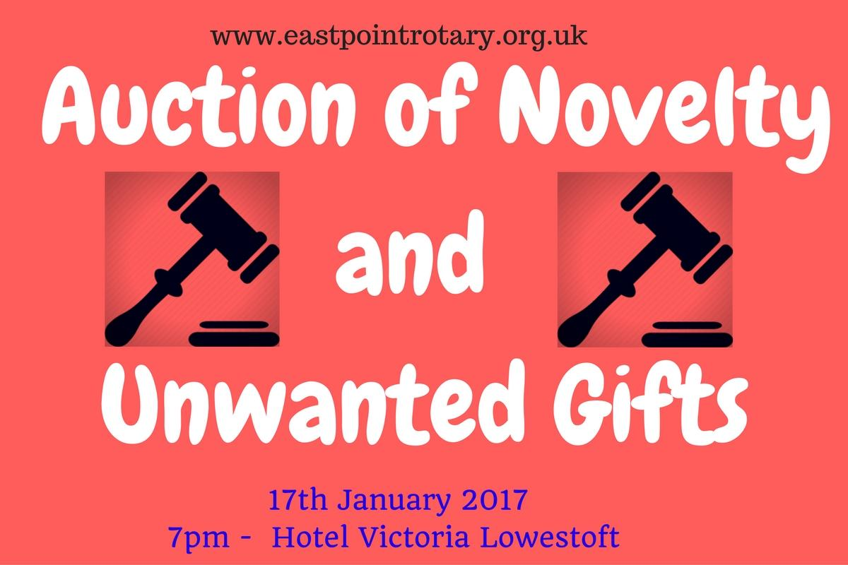 Auction of Novelty and Unwanted Gifts