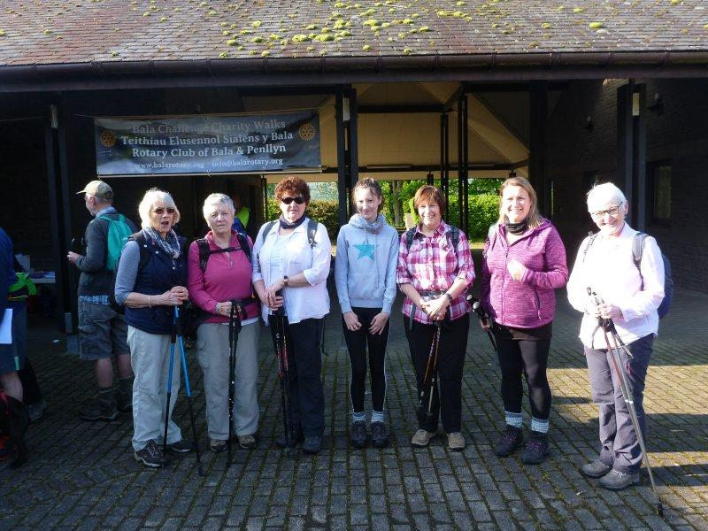 Bala Challenge Walks 2020 - Start of 2019 Challenge walks