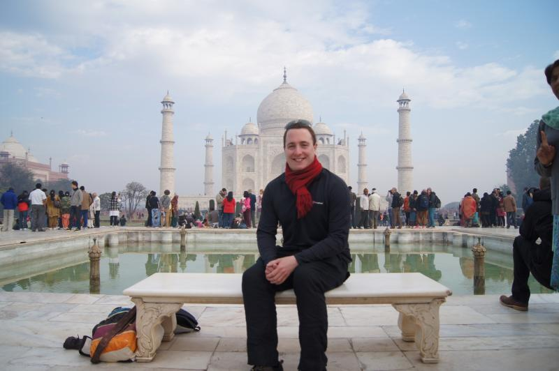 Ben's GSE visit to India -