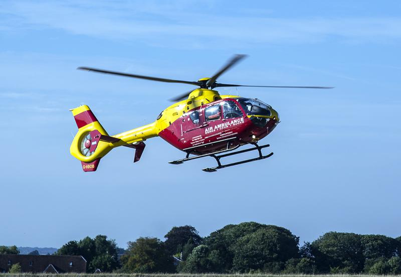 Visiting Thames Valley & Chiltern Air Ambulance Service - Air Ambulance Helicopter