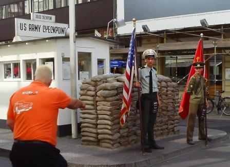 Berlin Visit 2008 -  Check Point Charlie