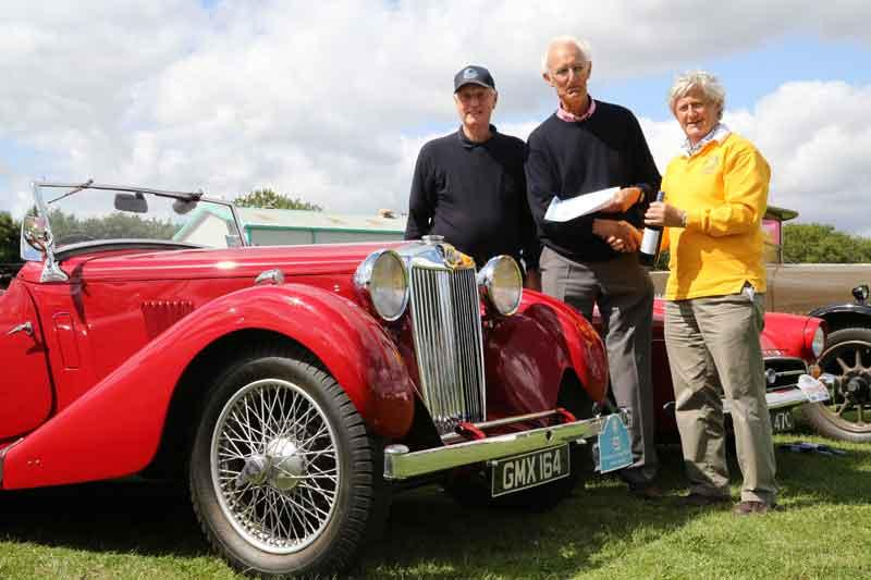 The car show 2014: one of our winners - best car pre 1940.
