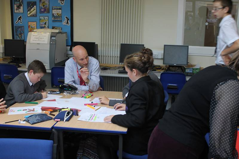 A young enterprise competition at West Somerset College