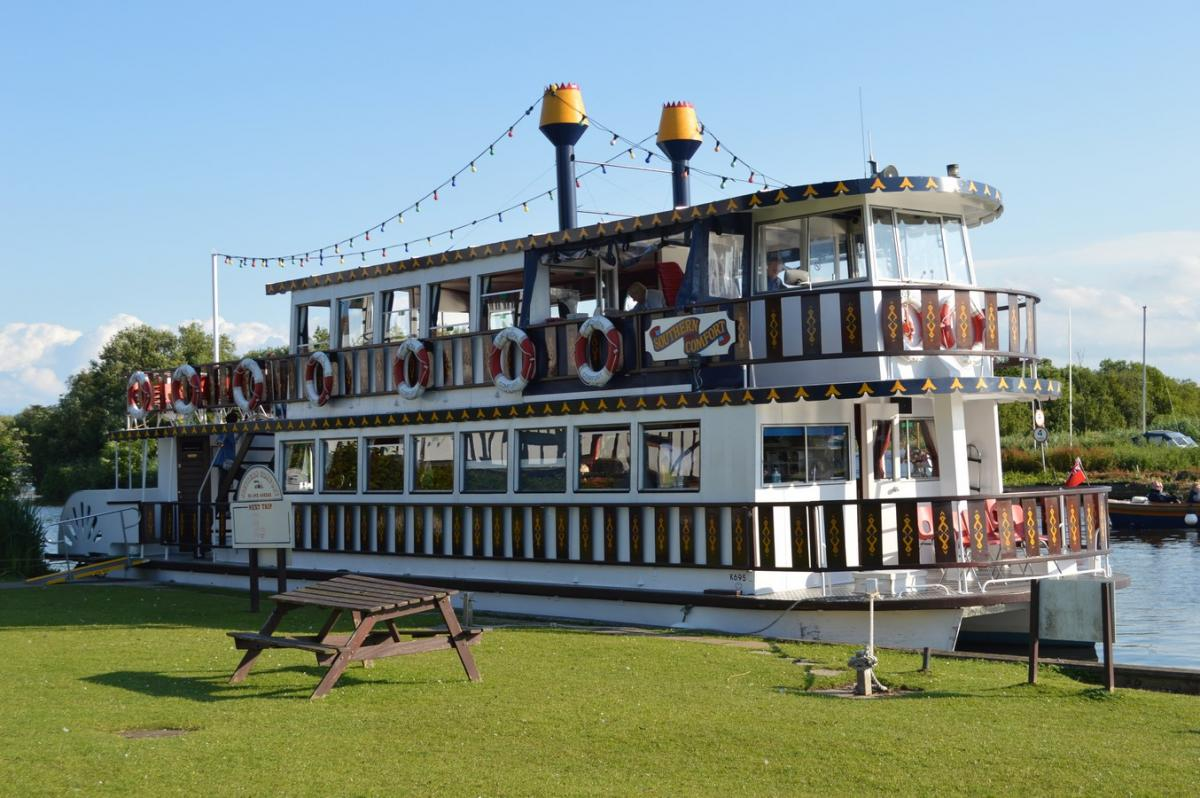 'Southern Comfort' Paddle Steamer - 14 July 2016 -