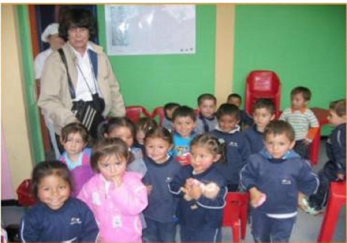 Bogota Appeal in Pictures - Children in the project