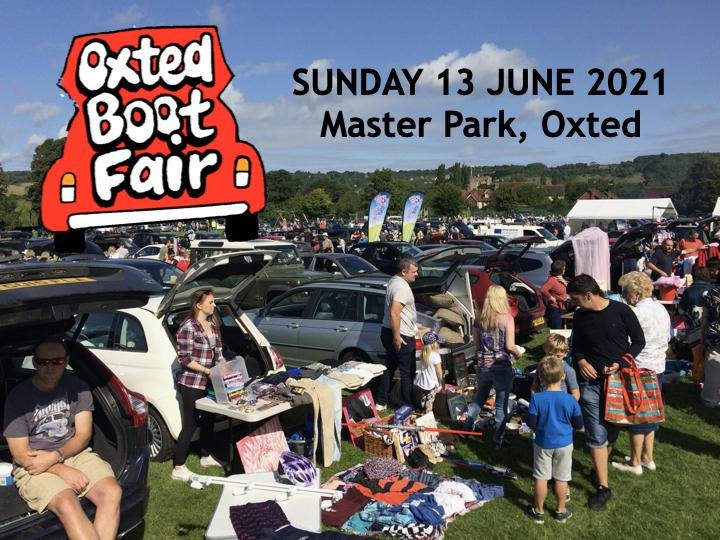 Oxted Boot Fair - 13 June 2021