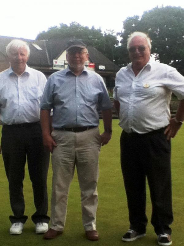 We compete in the District Bowls competition -
