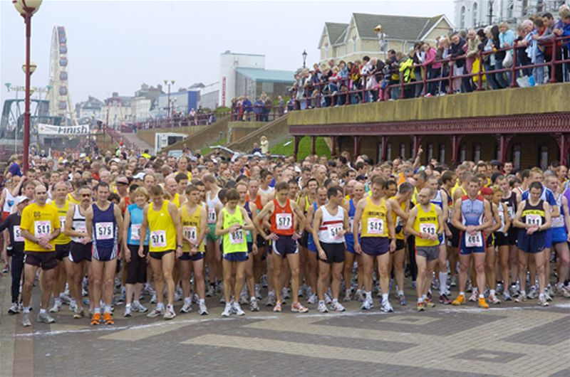 Bridlington Half Marathons up to 2007 - Starting Line 2007