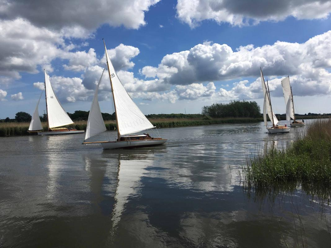 A view of the Broads-  Upton Family Day and Charity Walk