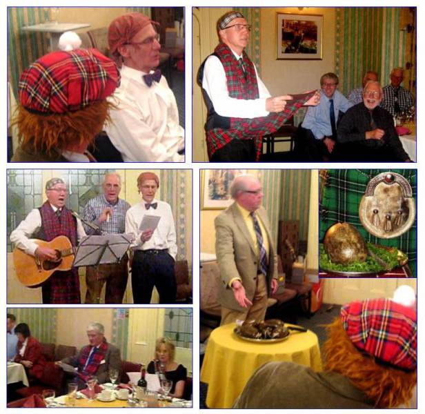 Tounge-in-cheek 'Touch of Tartan' - Rabbie wouldn't have minded