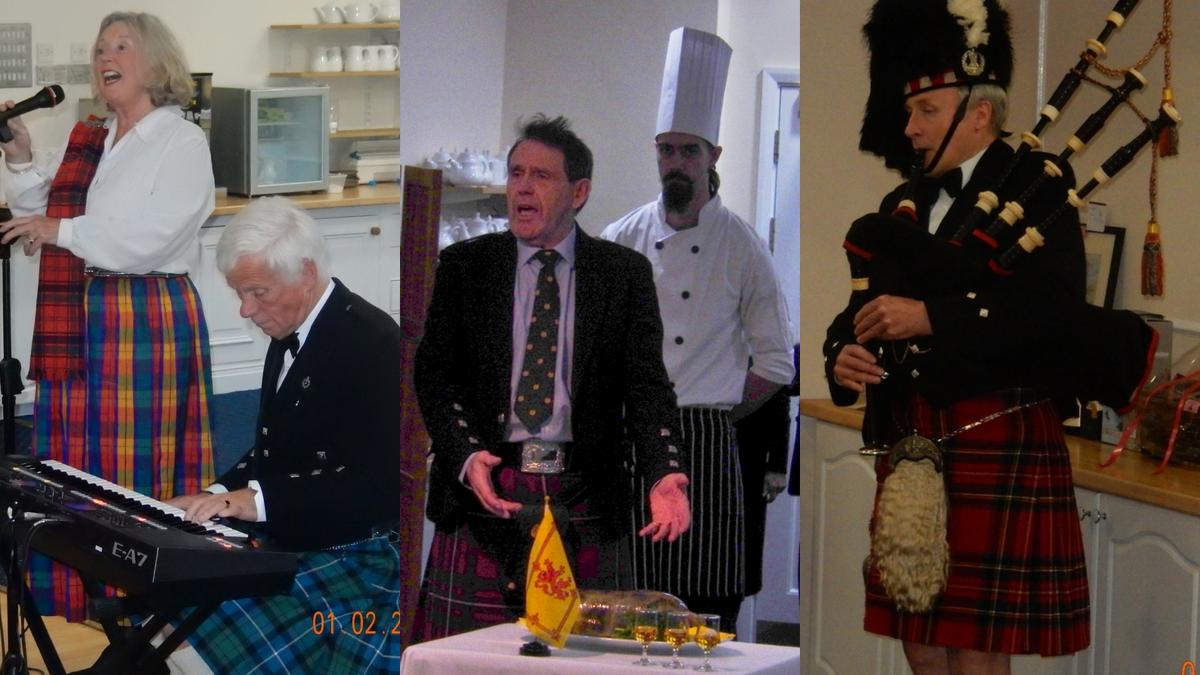 All the Scottish Burns traditions in one great evening!