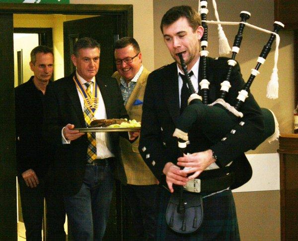 Burns Night Supper and Dance Great Success -