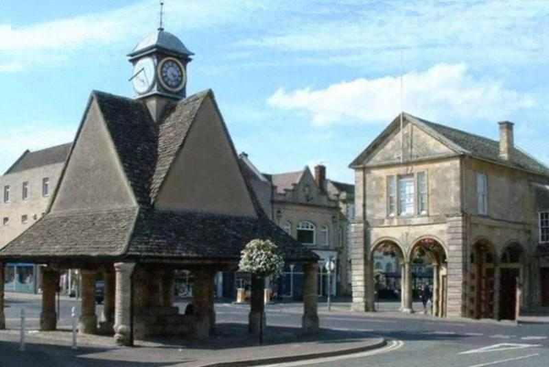 Witney Buttercross and Town Hall