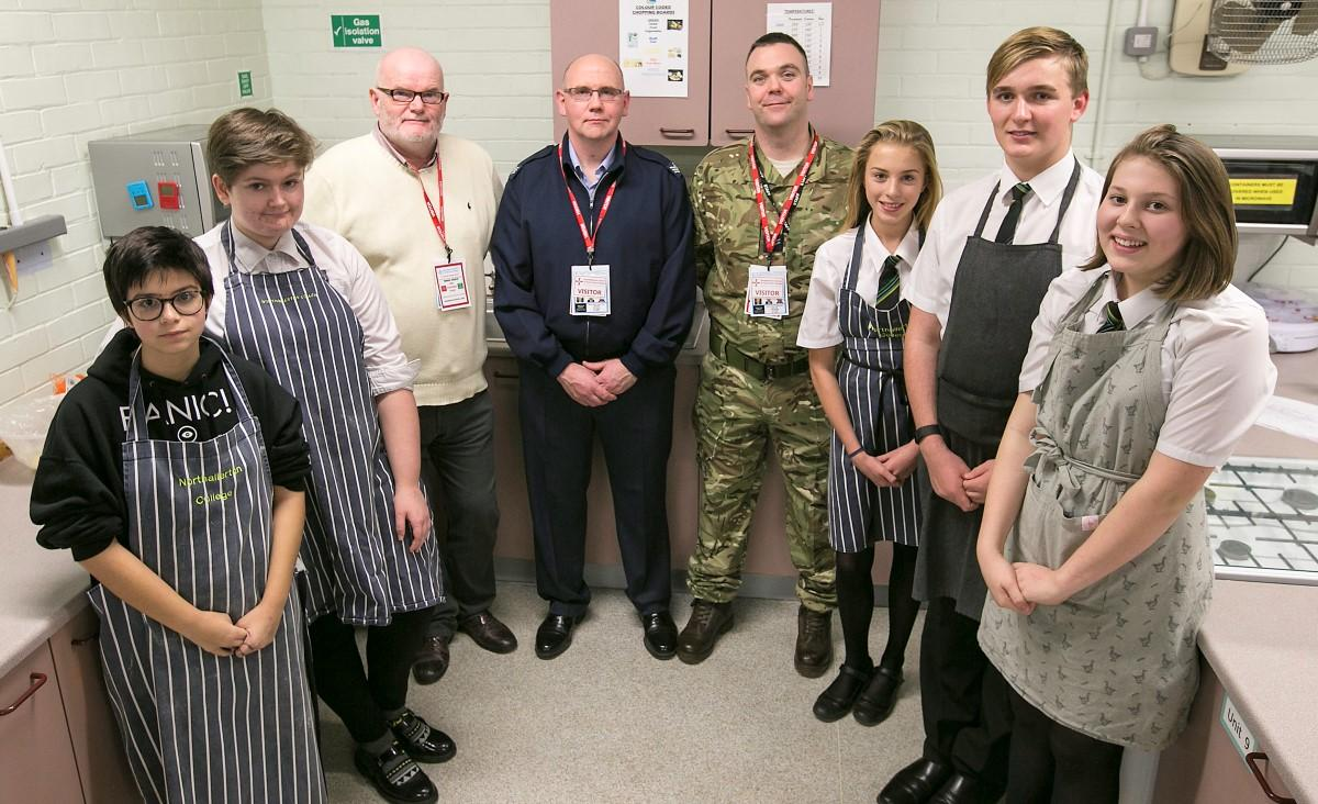 Each year the Club takes part in the Rotary Young Chef Competition, starting with a local round