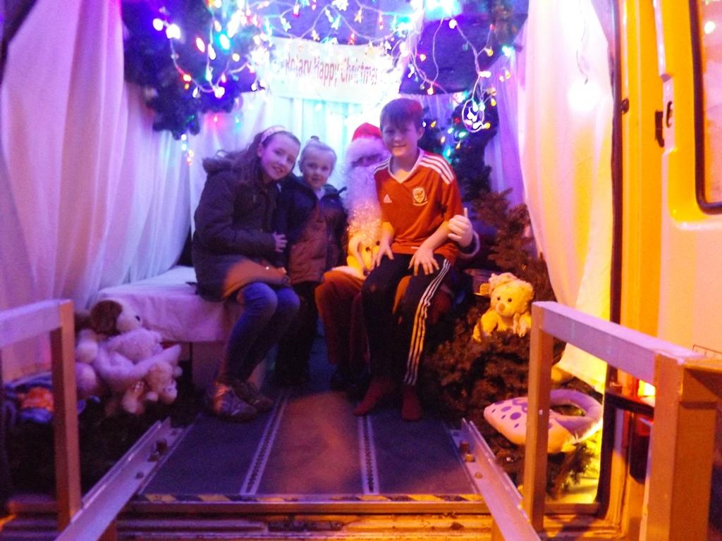 Father Christmas's Grotto Round  - Father Christmas