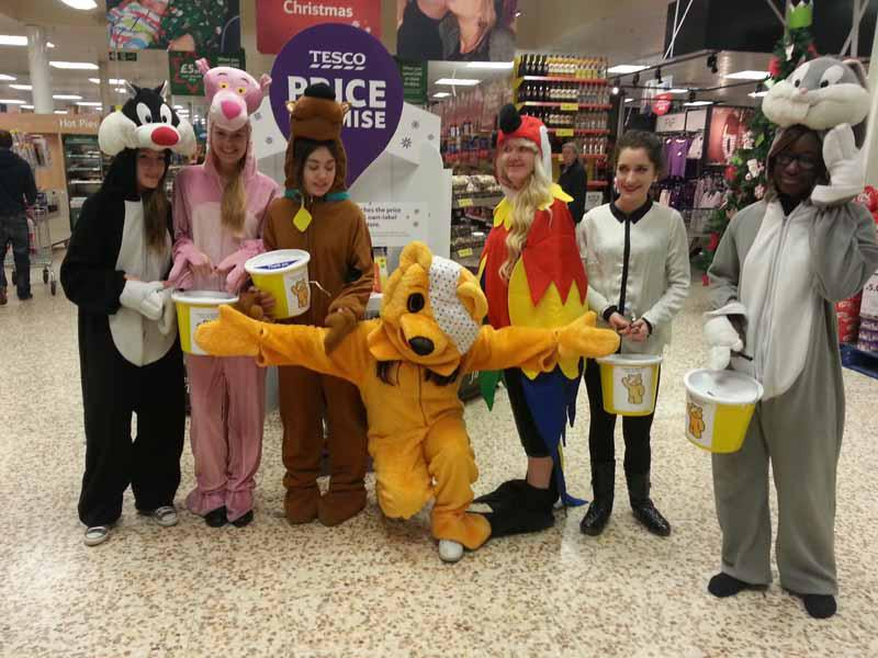 Children In Need Collection, Tesco Kew, Southport