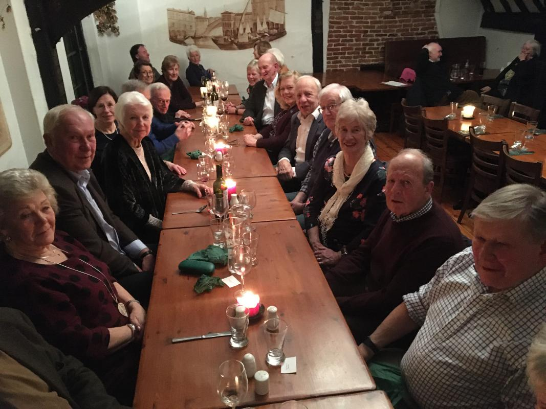 30 January 2020. Members and guests enjoyed an evening meal with Australian entertainment at a small restaurant in the town previously unknown to most of them.
