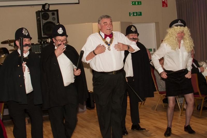 Charter Night 2015 - The laughing policeman