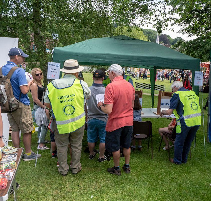 Rotary at Chesham Carnival 2018 - Rotary at Chesham Carnival