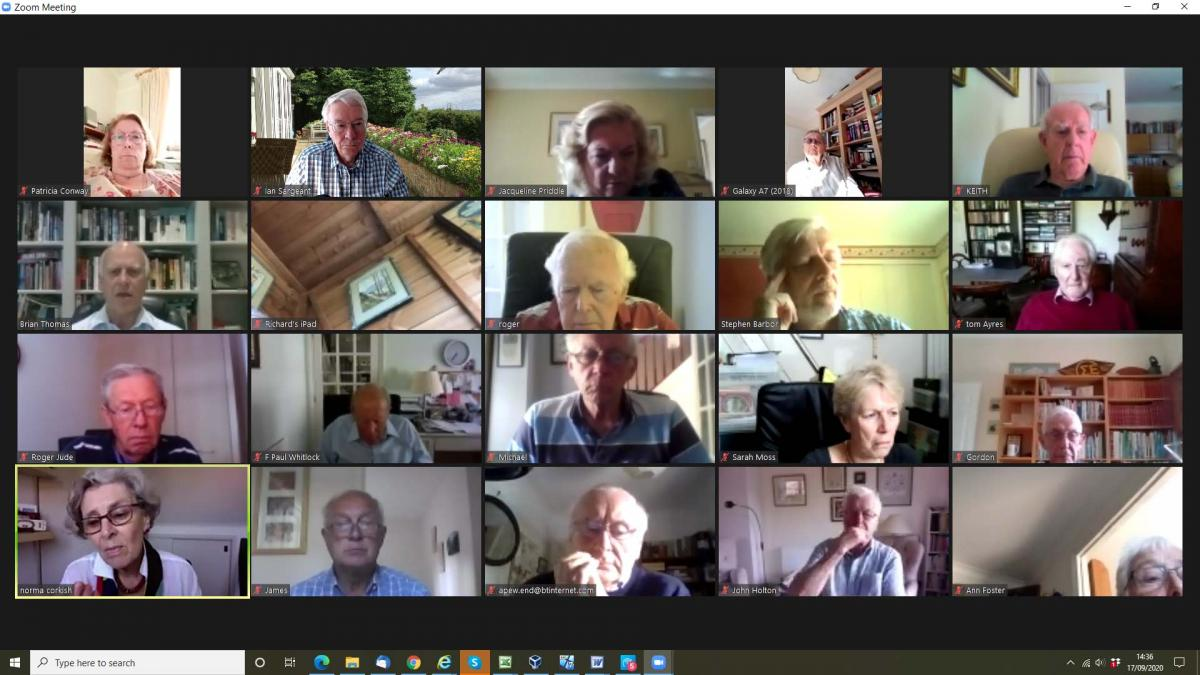 Our Zoom meeting heard from Stephen Barbor about the way that Child Aid Eastern Europe assists disabled children in countries where they are frequently disowned and suffer terrible consequences.