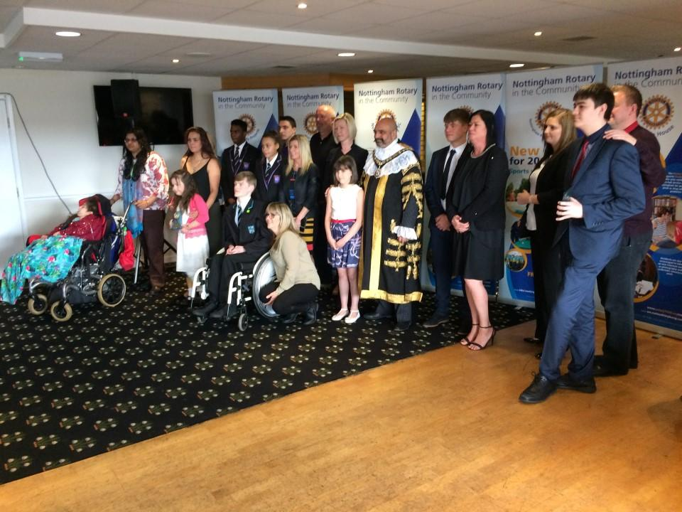 Children Of Courage Awards Nottingham Rotary