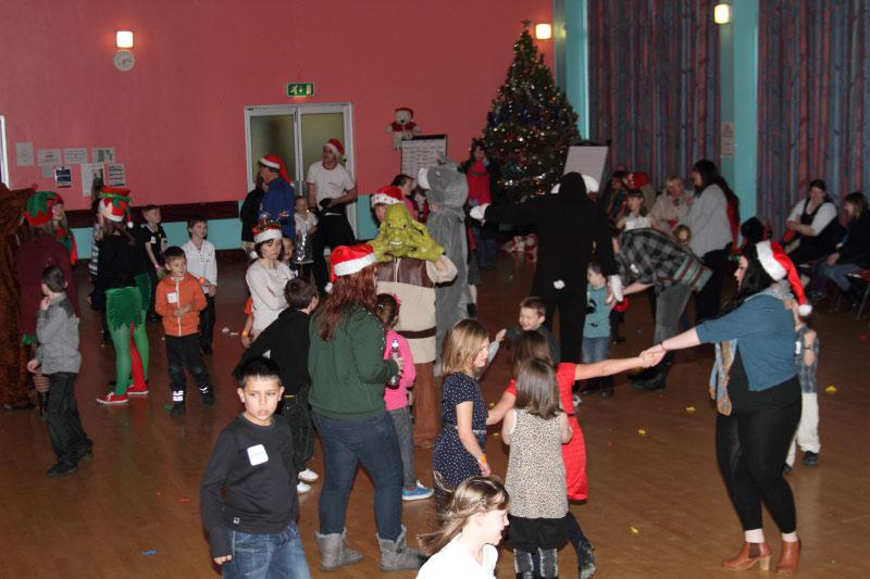 Childrens Christmas Party - Playing games