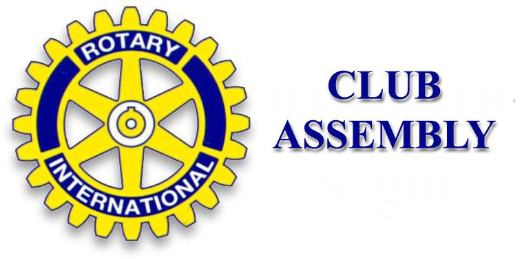 The Rotary Club of Southport Links Club Assembly