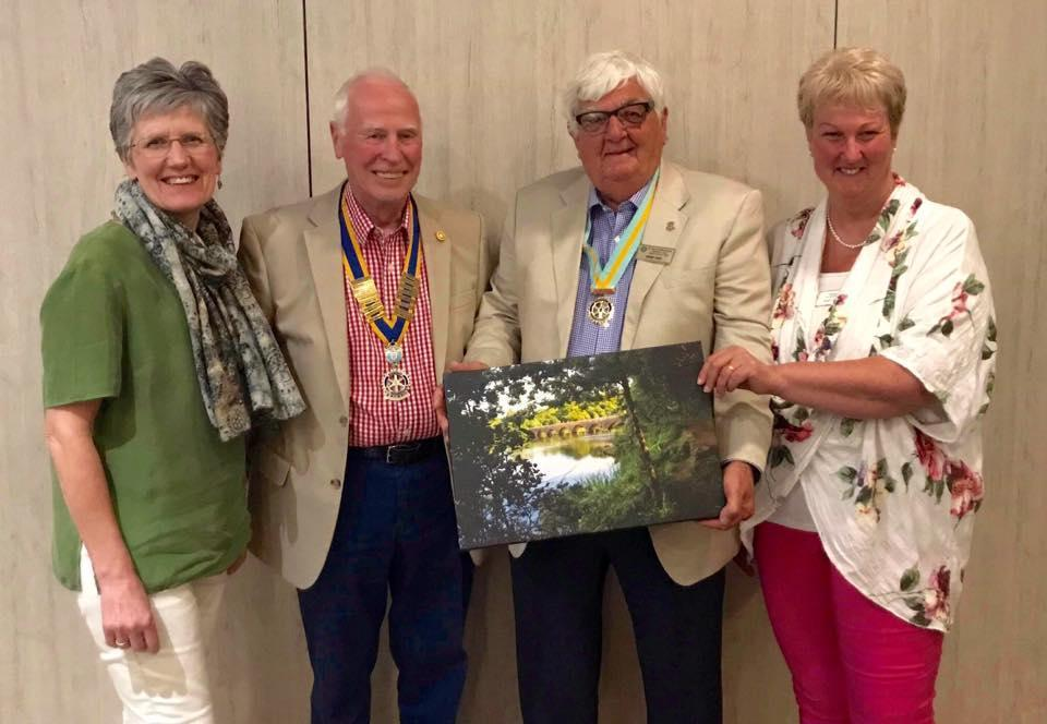 Narberth and Whitland Rotary Club held their Club Assembly in May when President Elect Elaine Bradbury outlined her strategy for the next 12 months