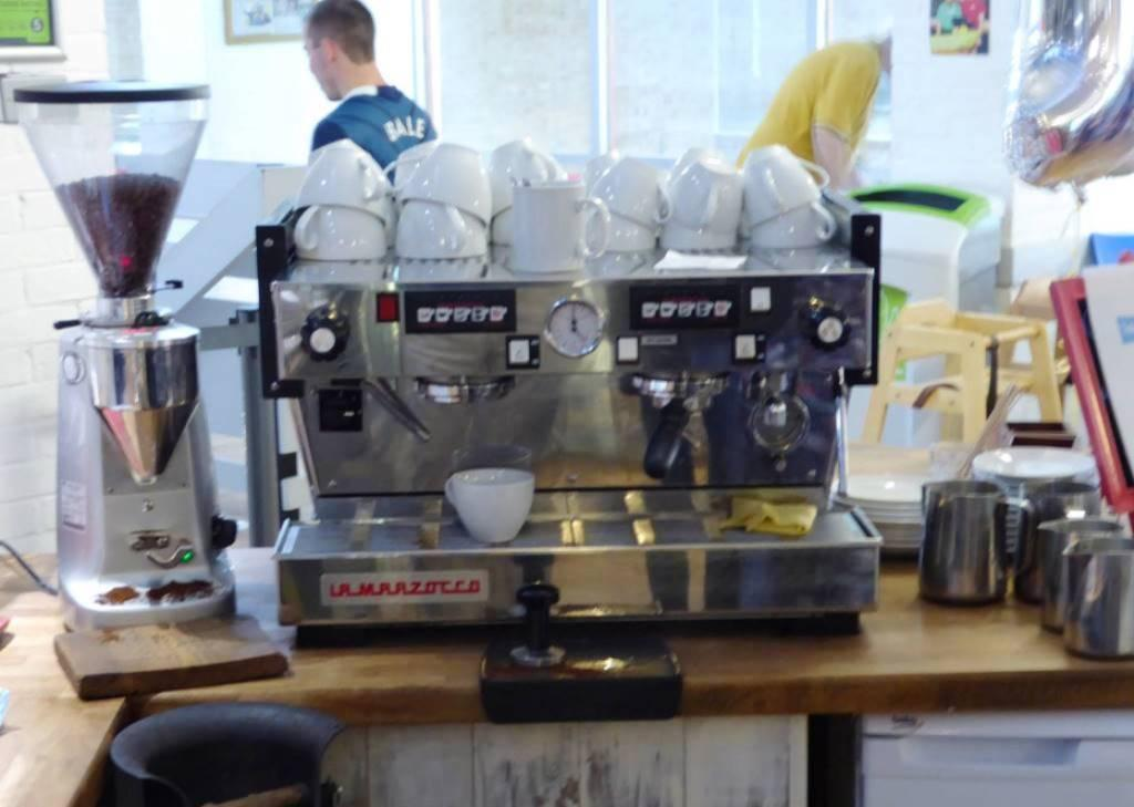 Coffee Maker donated by Witney  Rotary Club.