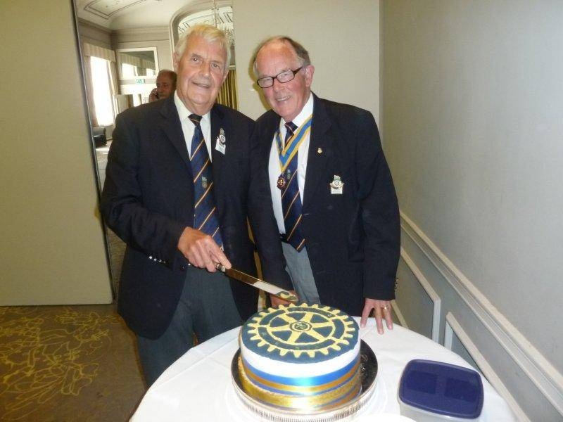 Rotarian Colin Coombs 70th Birthday  -
