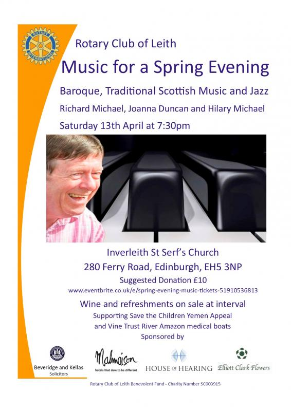 Music for a Spring Evening - Event Details