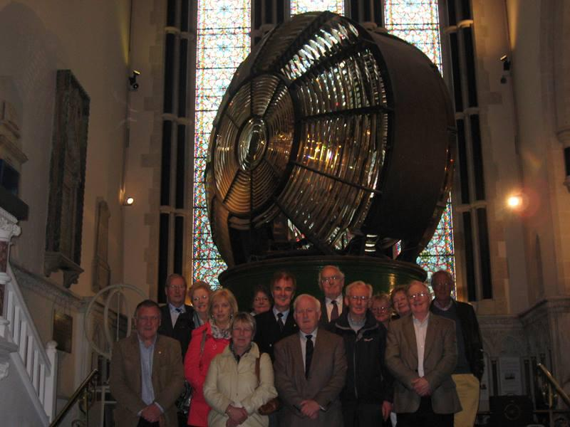Trip to the Rotary Club of Dun Laoghaire  -