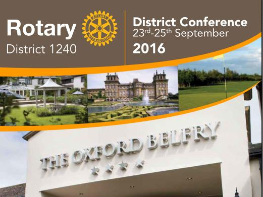 District 1240 Conference -