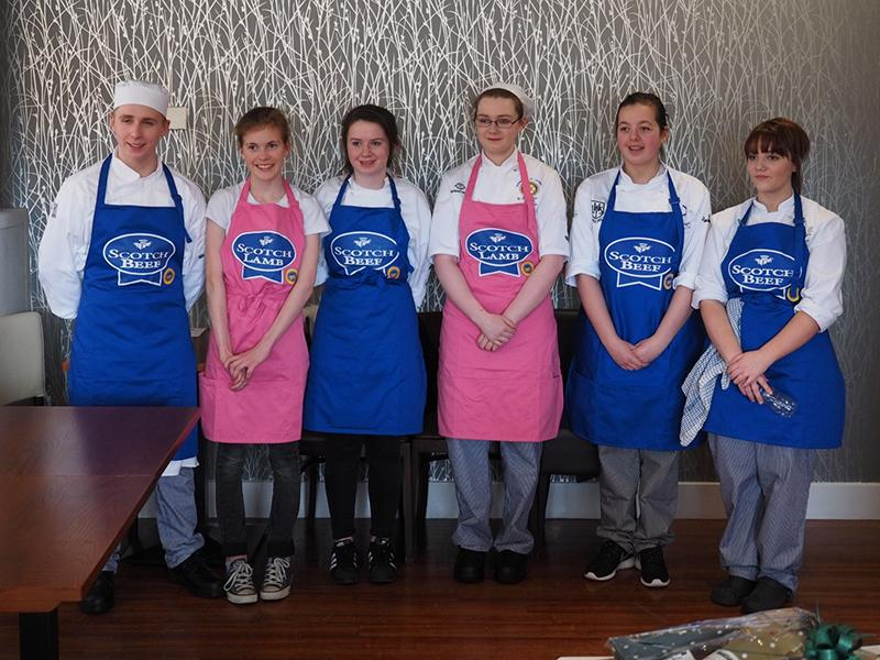 Rotary Young Chef - Regional Final - Competitors of the Regional Young Chef competition