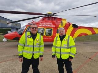 Supporting the Air Ambulance