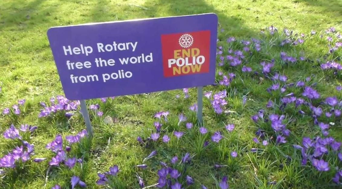 Find out how you can help End Polio Now.