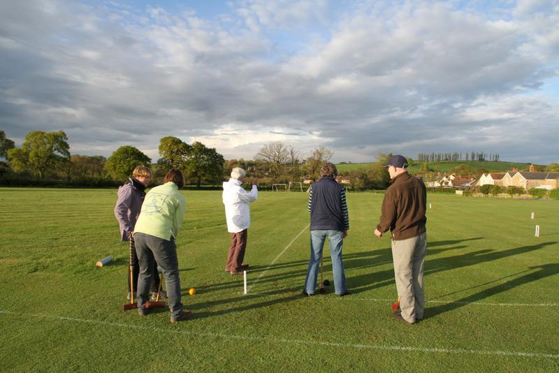 Golf Croquet - 1 May 2014 -