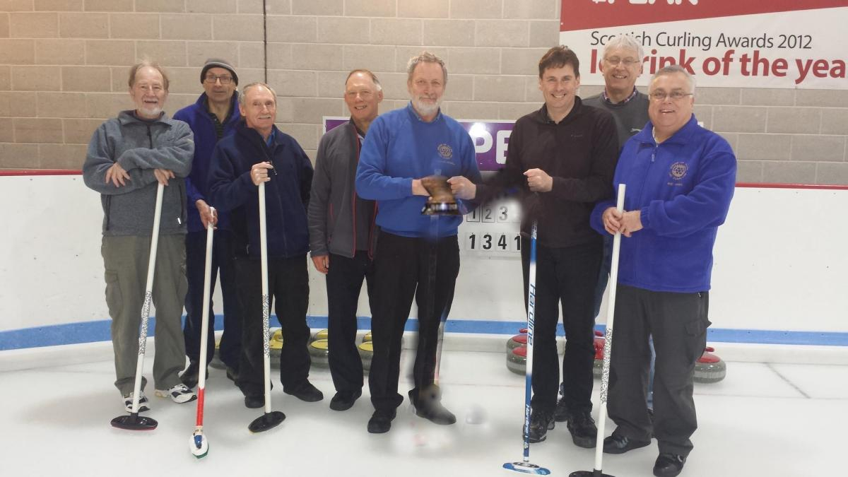 Annual Curling versus Stirling Rotary - Peak November 1 @ 18.15 - The winning teams