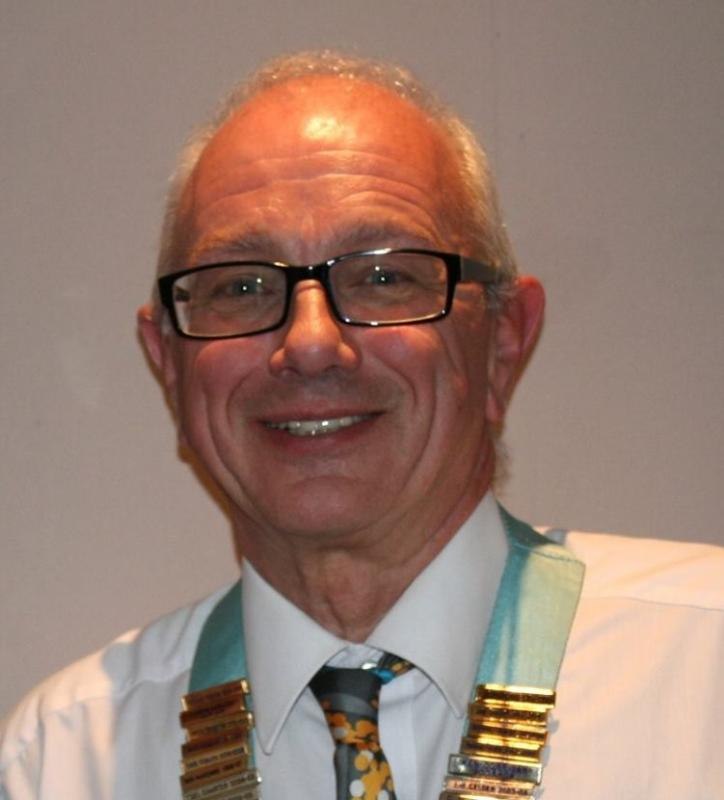 District Governor Visit - Alan Hudson reveals the latest Rotary updates for District 1100