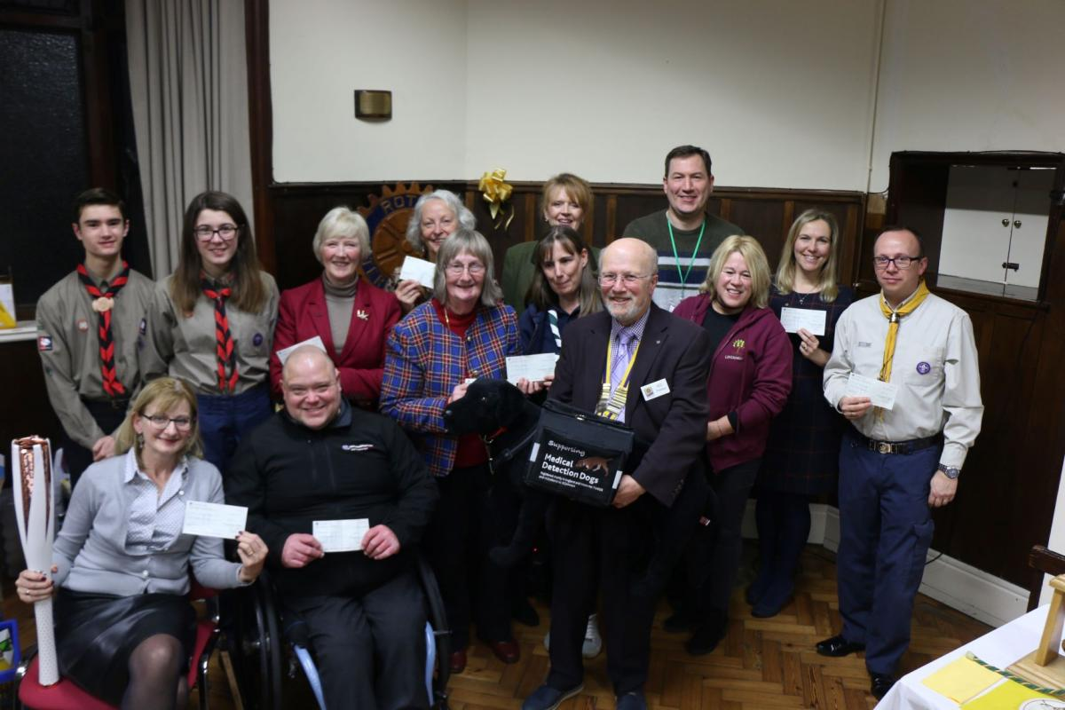 Christmas success for the Santa Float charity collections -