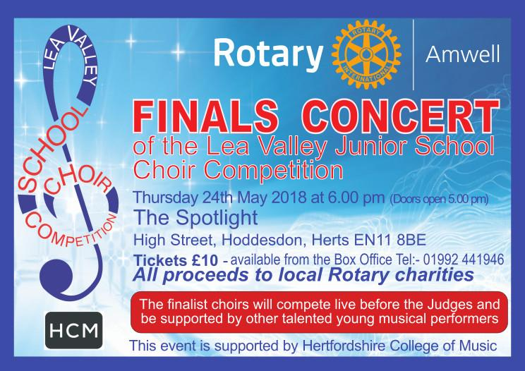 Choir Competition Finals - Rotary District