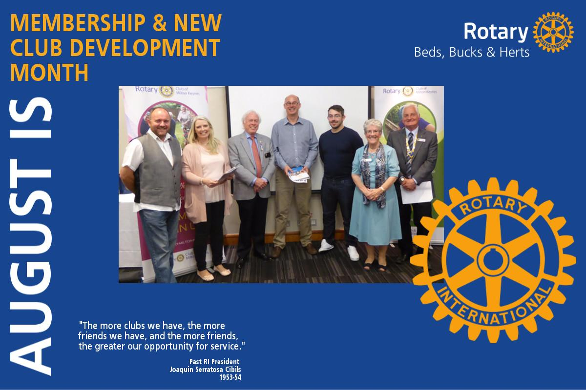District Governor's Newsletter - August 2017 -
