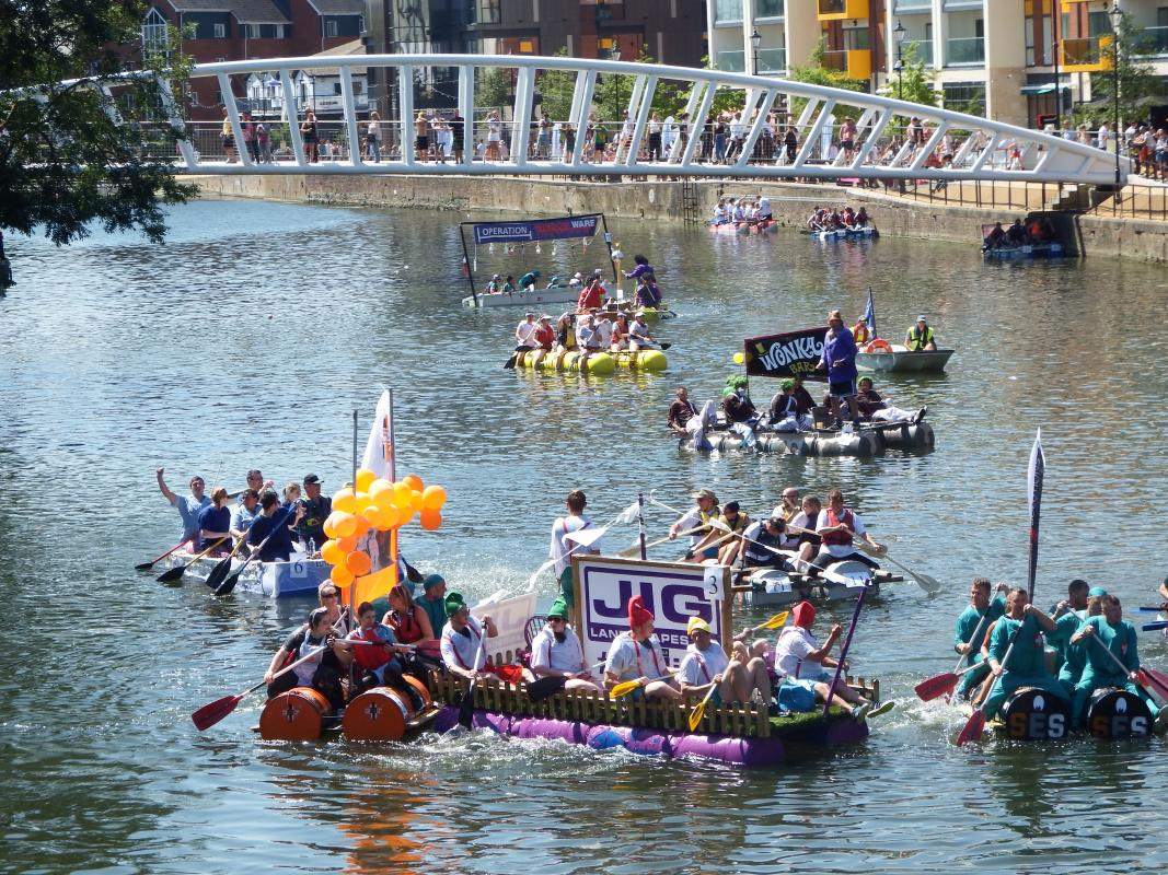 Bedford Park Raft Race -