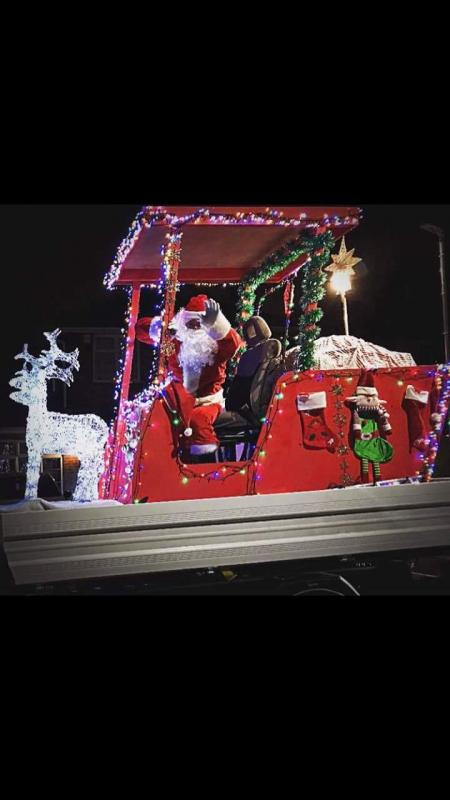 Dunstable Winter Update - Dunstable Rotary's Santa Float